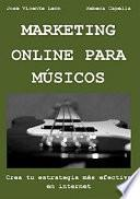 Libro de Marketing Online Para Músicos