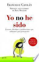 Libro de Yo No He Sido