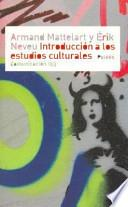 Libro de Introducción A Los Estudios Culturales