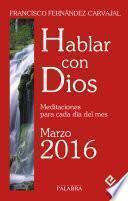 Libro de Hablar Con Dios   Marzo 2016