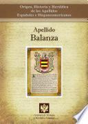 Libro de Apellido Balanza