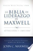 Libro de La Biblia De Liderazgo De Maxwell