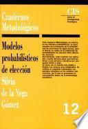 Libro de Modelos Probabilísticos De Elección