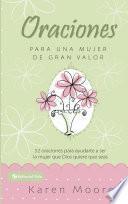 Libro de Oraciones Para Un Mujer De Gran Valor