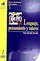 Libro de Lenguaje, Pensamiento Y Valores
