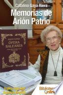 Libro de Memorias De Arión Patrio