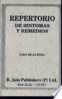 Libro de Repertorio De Sintomas Y Remedios