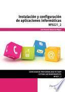 Libro de Mf0221_2   Instalación Y Configuración De Aplicaciones Informáticas