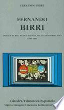 Libro de Fernando Birri