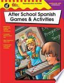 Libro de After School Spanish Games & Activities, Intermediate