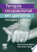 Libro de Terapia Ocupacional En Geriatría