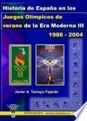 Libro de Historia De España En Los Juegos Olímpicos De Verano De La Era Moderna Iii (1986 2004)