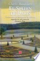 Libro de El Spleen De París