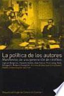 Libro de La Política De Los Autores