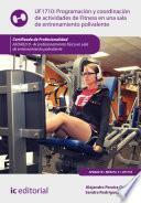 Libro de Programación Y Coordinación De Actividades De Fitness En Una Sala De Entrenamiento Polivalente. Afda0210