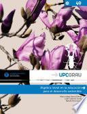 Libro de Álgebra Lineal En La Educación Para El Desarrollo Sostenible