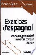 Libro de Exercices D Espagnol