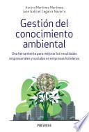 Libro de Gestión Del Conocimiento Ambiental