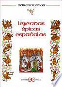 Libro de Leyendas épicas Españolas