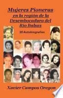 Libro de Mujeres Pioneras En La Región De La Desembocadura Del Río Balsas