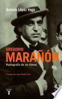 Libro de Gregorio Marañón