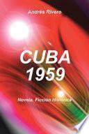 Libro de Cuba 1959