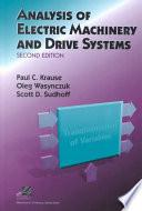 Libro de Analysis Of Electric Machinery And Drive Systems