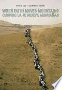 Libro de Cuando La Fe Mueve Montañas