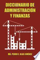 Libro de Diccionario De Administraci¢n Y Finanzas