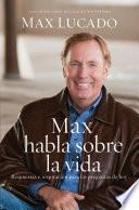 Libro de Max Habla Sobre La Vida