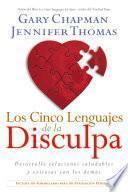 Libro de Los Cinco Lenguajes De La Disculpa