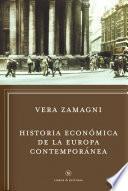 Libro de Historia Económica De La Europa Contemporánea