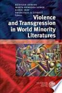 Libro de Violence And Transgression In World Minority Literatures