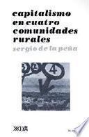 Libro de Capitalismo En Cuatro Comunidades Rurales