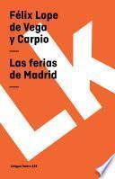 Libro de Las Ferias De Madrid