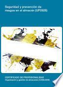 Libro de Uf0928   Seguridad Y Prevención De Riesgos En El Almacén