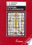 Libro de Psicología De La Adolescencia