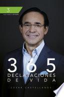 Libro de 365 Declaraciones De Vida