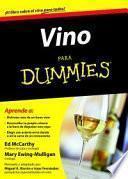 Libro de Vino Para Dummies