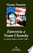 Libro de Entrevista A Noam Chomsky
