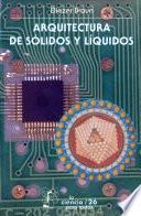 Libro de Arquitectura De Sólidos Y Líquidos