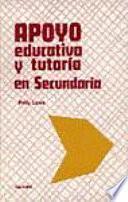 Libro de Apoyo Educativo Y Tutoría En Secundaria