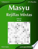 Libro de Masyu Rejillas Mixtas   Difícil   Volumen 4   276 Puzzles