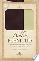 Libro de Biblia Plenitud Manual