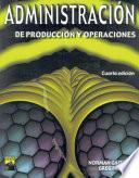Libro de Administración De Producción Y Operaciones