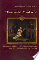 Libro de Honourable Murderers