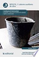 Libro de Labores Auxiliares De Obra. Eocb0209