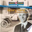 Libro de Henry Ford Y El Automóvil Modelo T