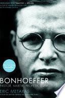 Libro de Bonhoeffer