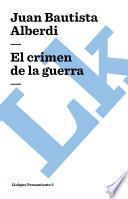 Libro de El Crimen De La Guerra